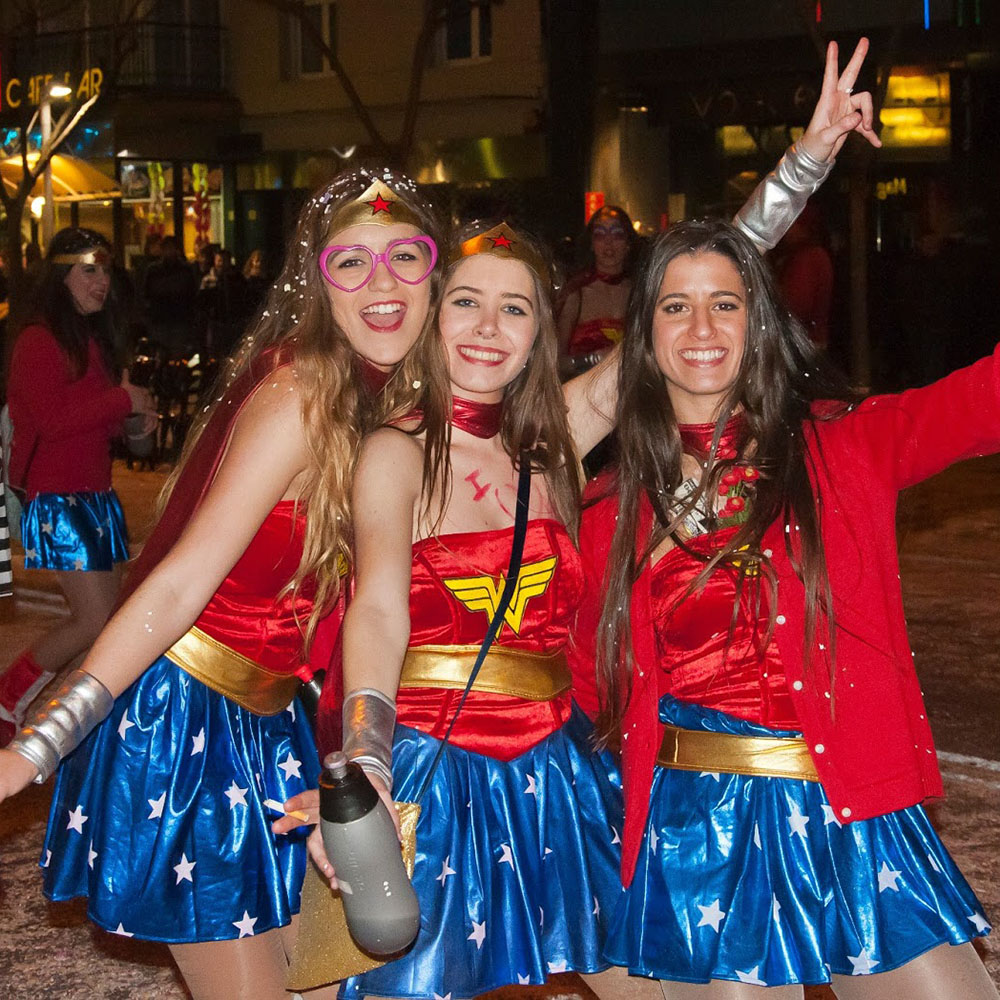 Platja d'Aro Spain best carnivals