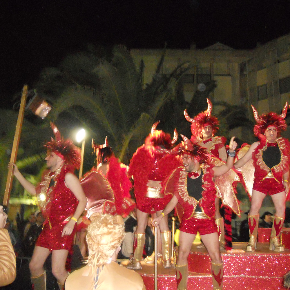 Sitges top carnivals in Spain
