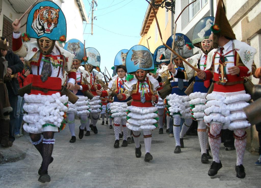 Spain top carnivals Laza Galicia Peliqueiros de Laza