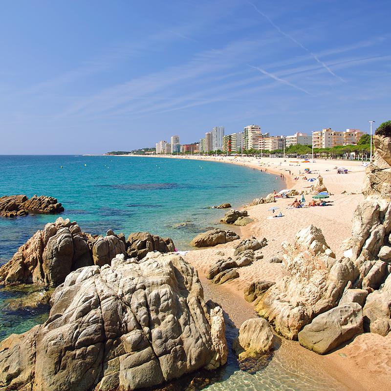 est carnivals Platja d`Aro Beach Spain