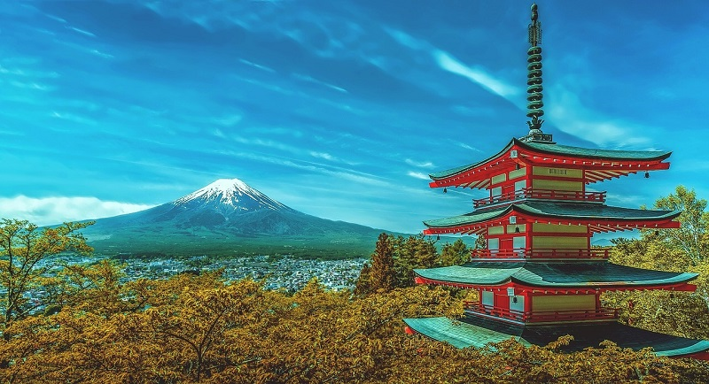 teach english abroad japan fuji pagoda 2