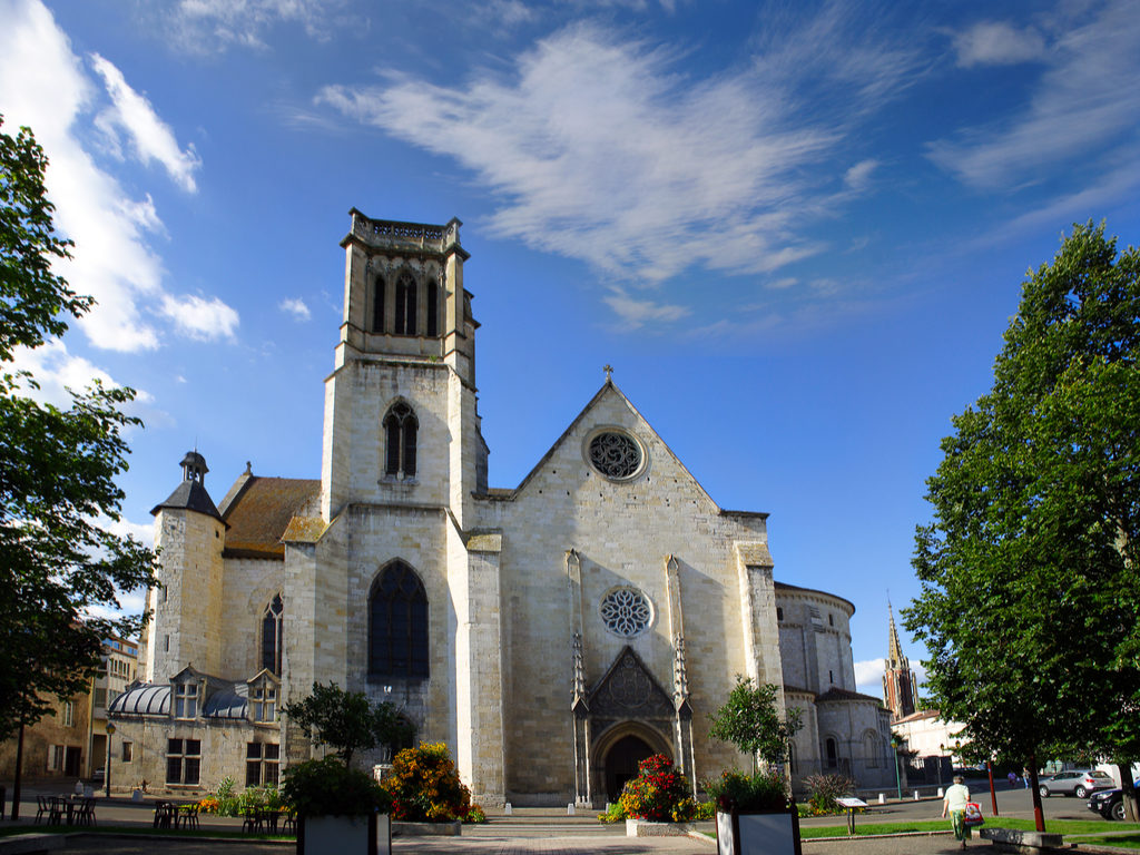 Agen France cathedral Saint Caprais
