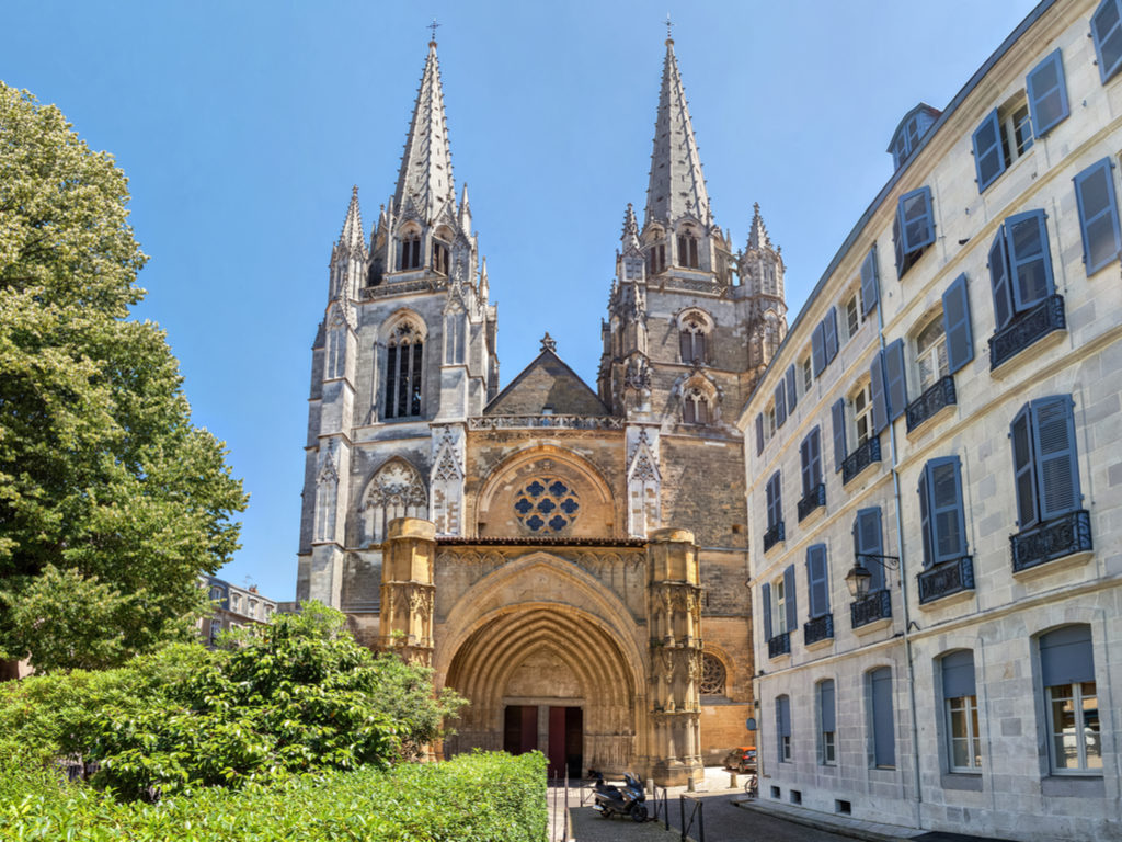 Bayonne France cathedral