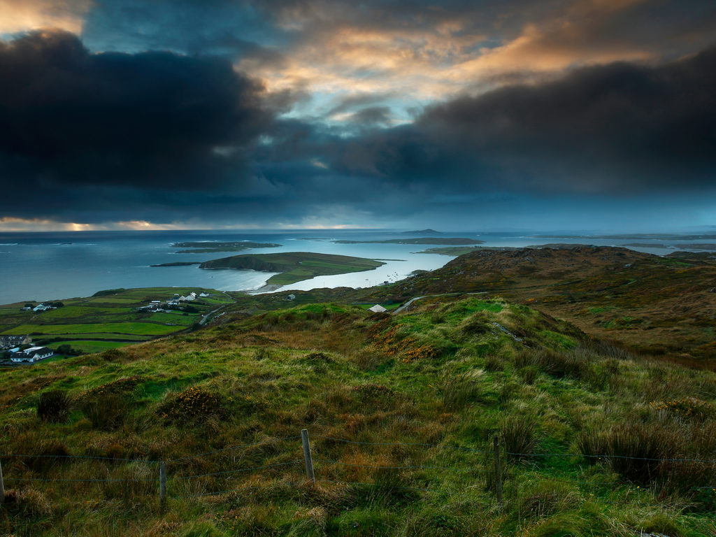 Galway beautiful places The Sky Road Clifden