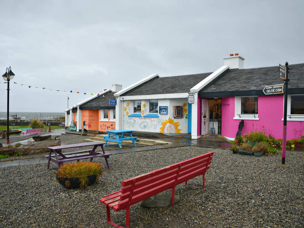 Galway top towns villages Spiddal craft shops