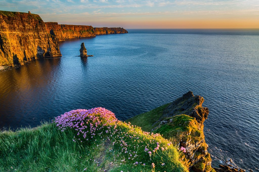 Cliffs of Moher Ireland-stunning Landscape and Seascape along the wild atlantic way