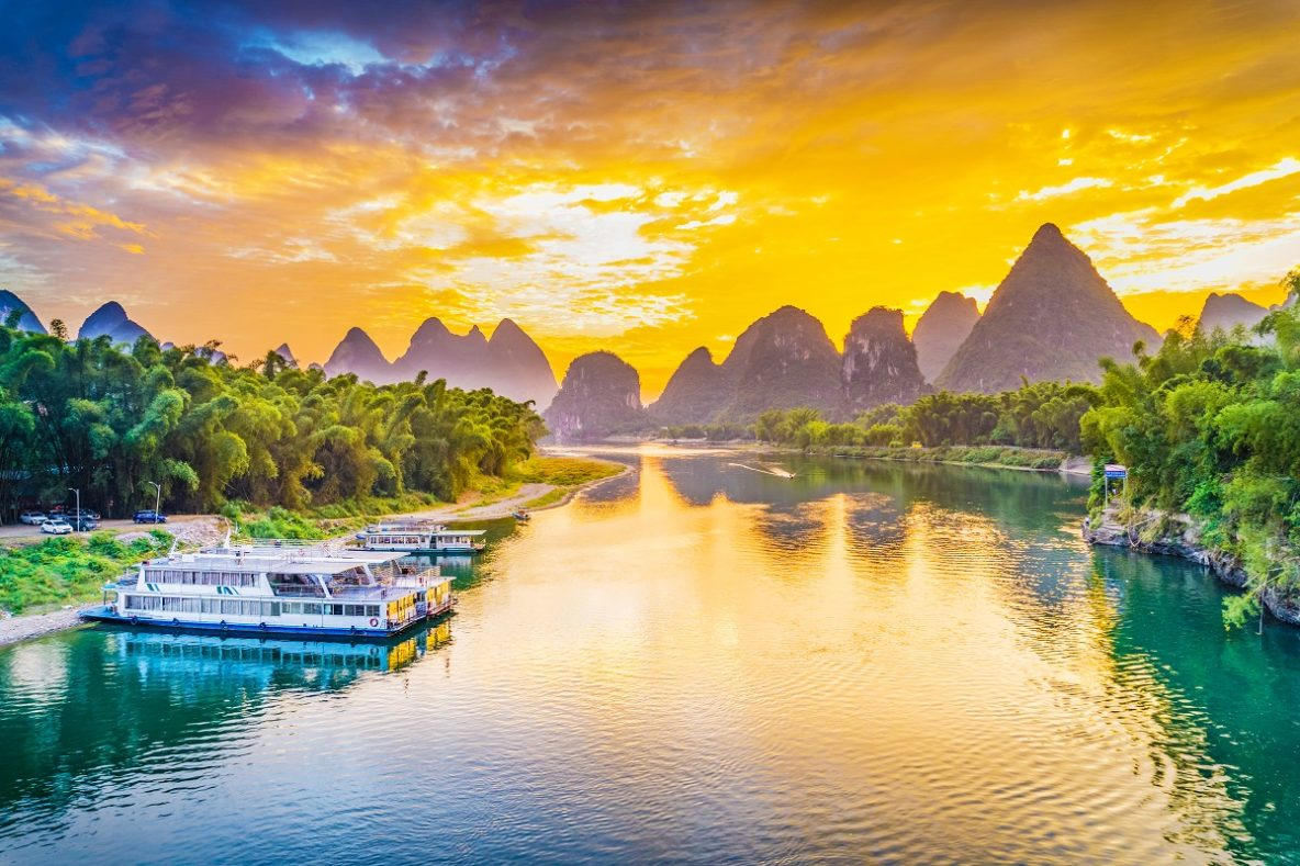 best place in China for outdoor activities Yangshuo
