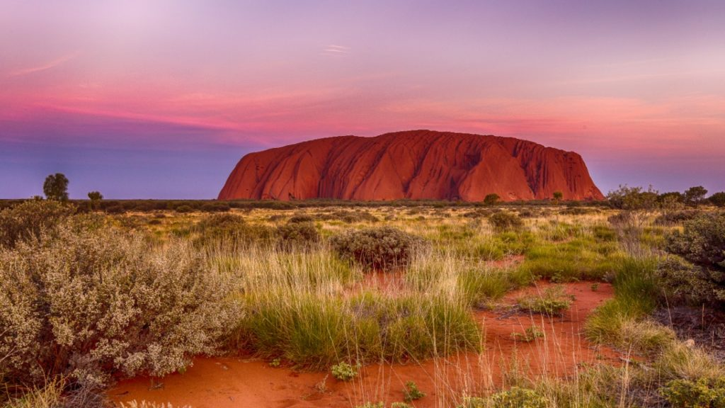 Australia best places to go Uluru-Ayers Rock