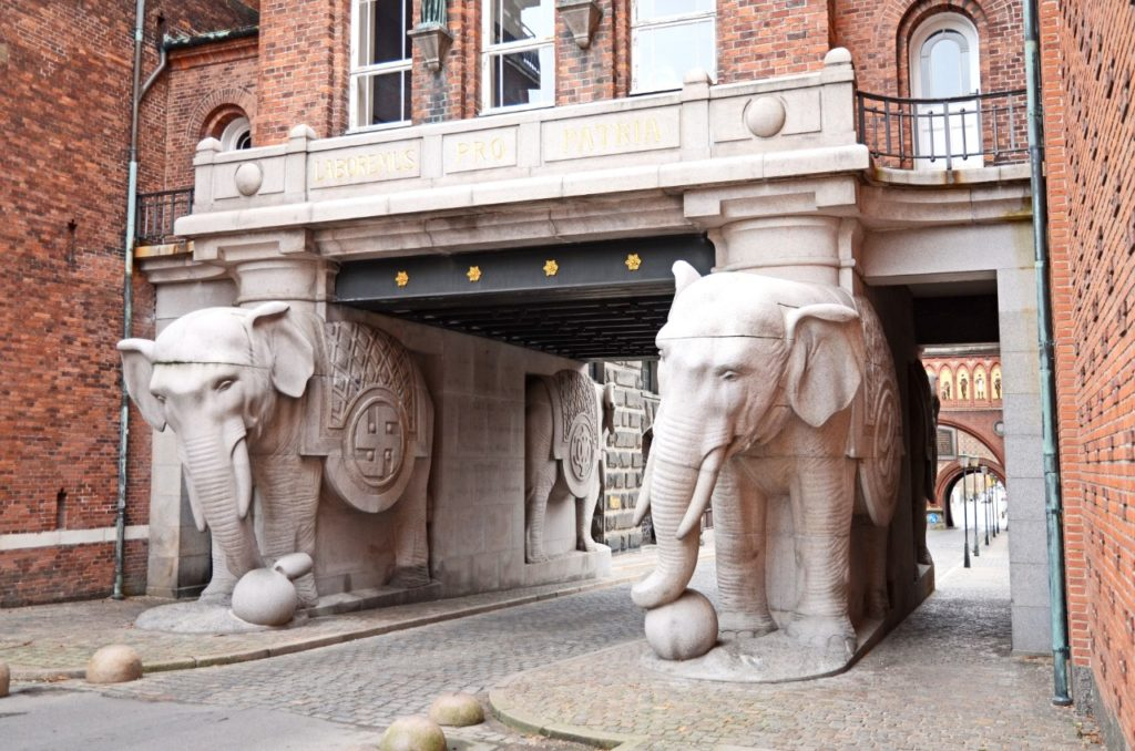 Copenhagen things to see Elephant Gate Carlsberg