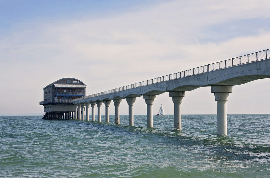 Isle of Wight places to go Bembridge Pier
