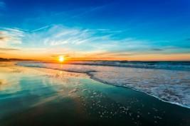 Peniche Portugal sunset