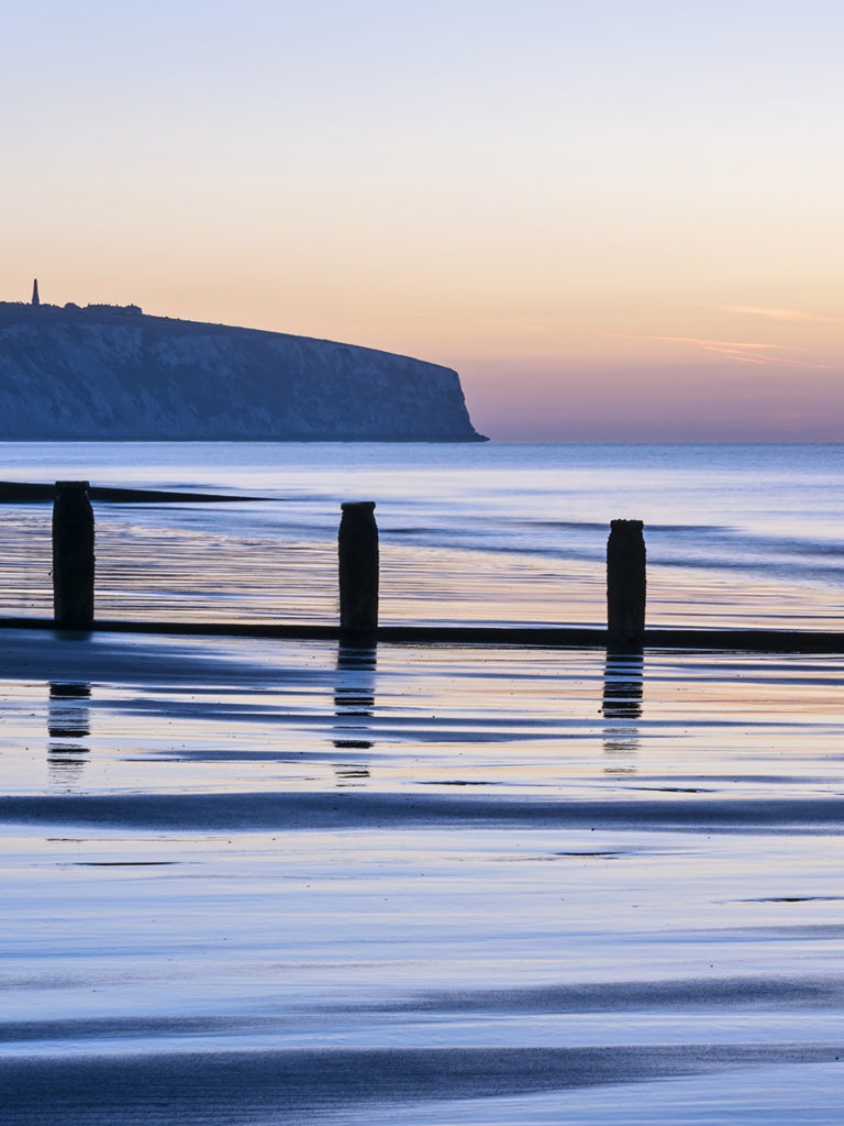 beautiful places Isle of Wight Sandown Sunrise