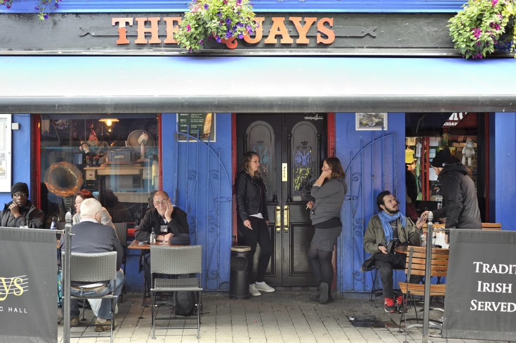 best live music pubs Galway Ireland
