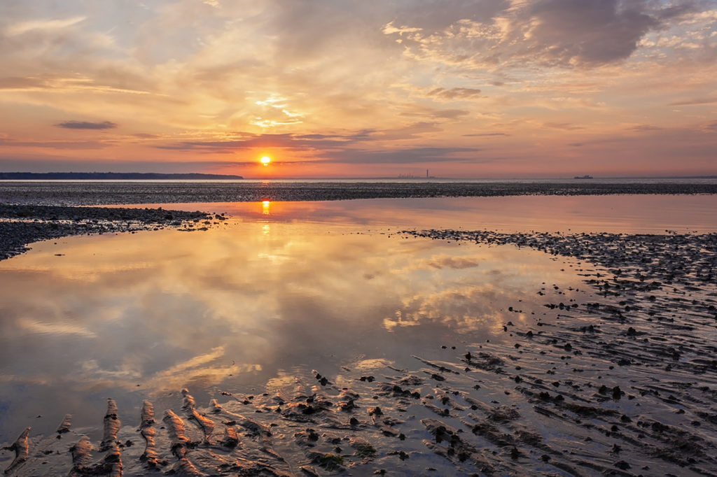 ryde-sunset-Isle of Wight