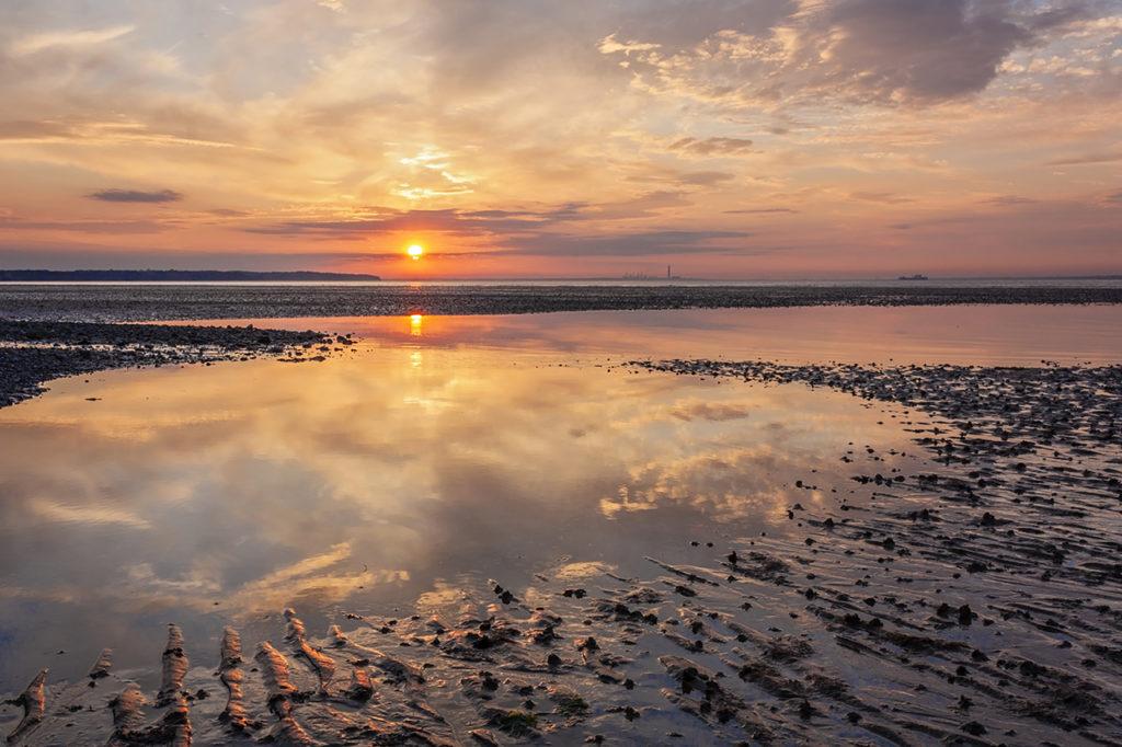 ryde-sunset-Isle of Wight