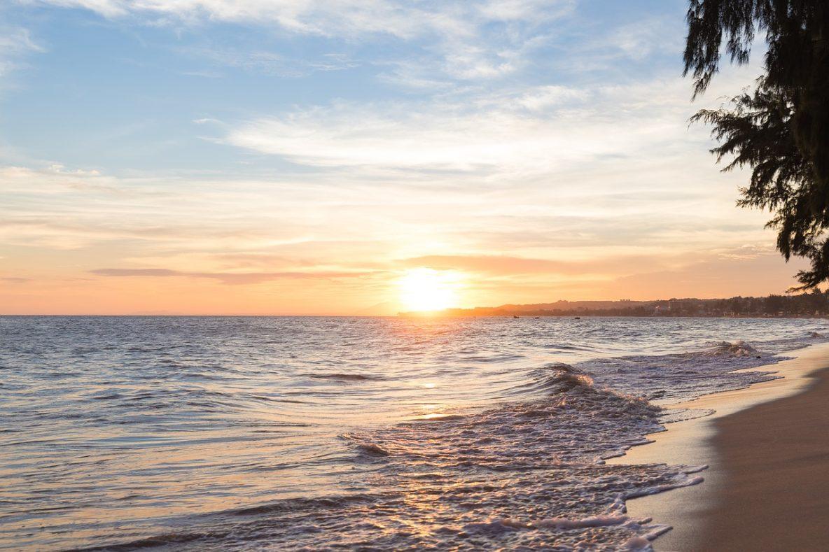 Mui Ne Vietnam beach sunset
