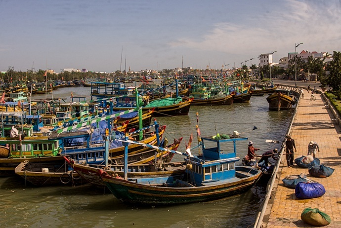 Mui Ne Vietnam fishing village