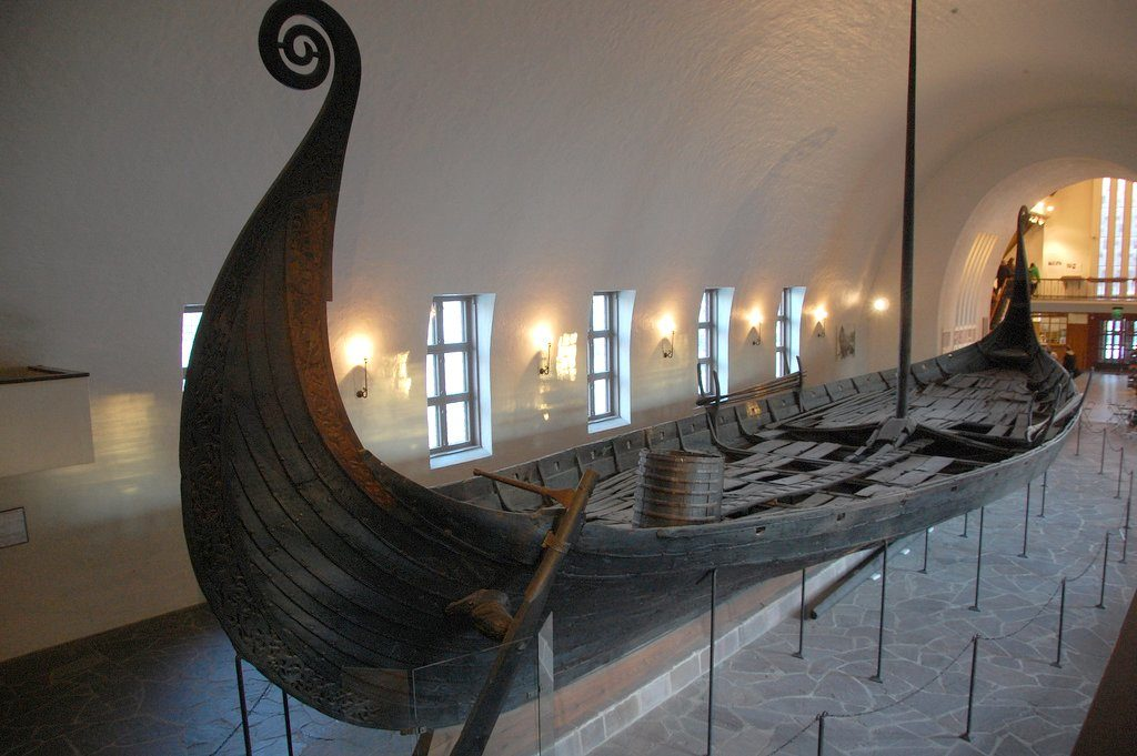 Norway art and museums-Viking Ship Museum