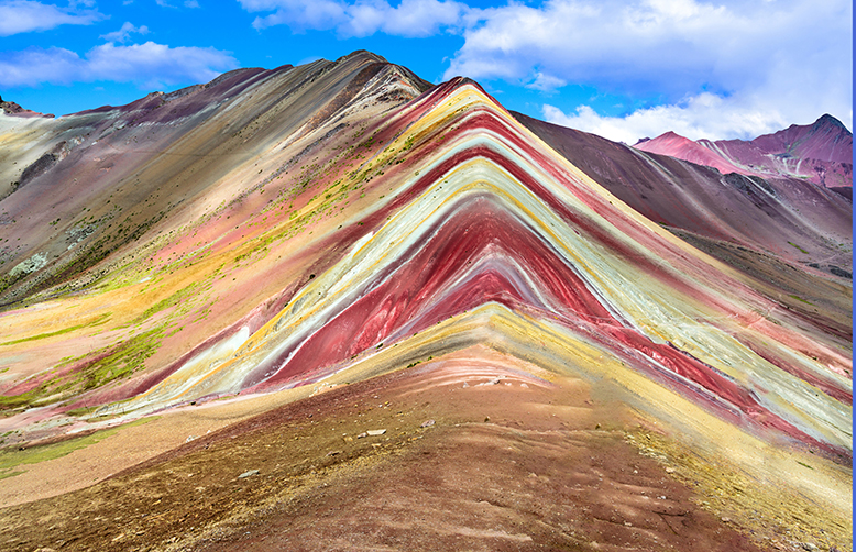 Peru-Vinicunca, Rainbow Mountain