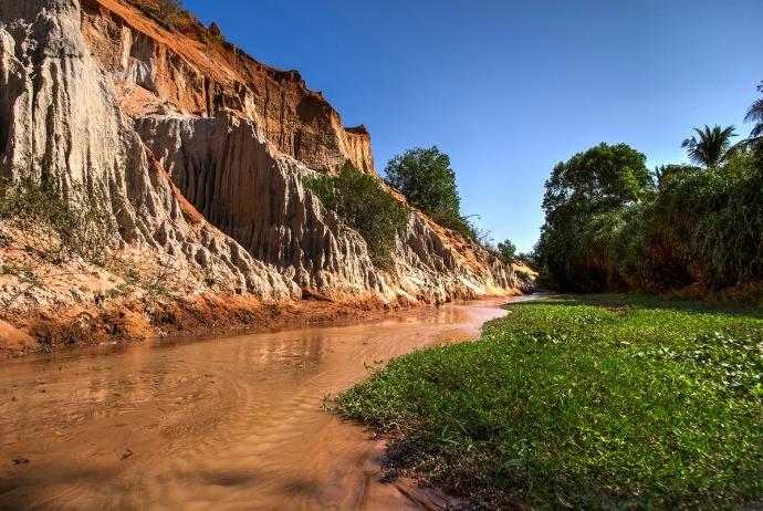 The Fairy Stream in Mui Ne Vietnam