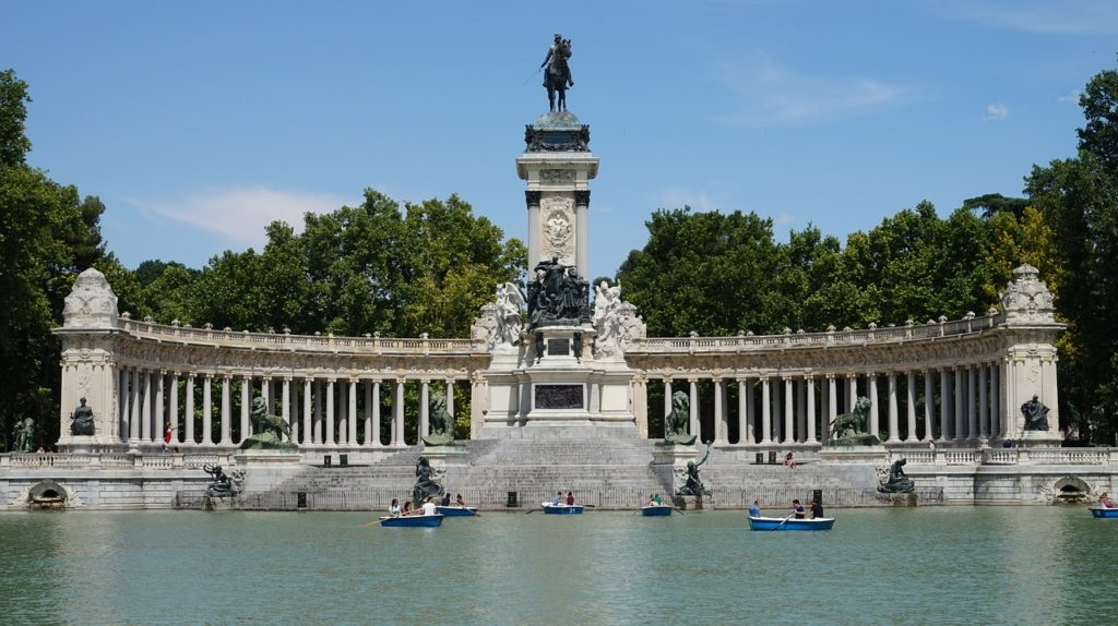 Best Route From Madrid to Barcelona retiro-park