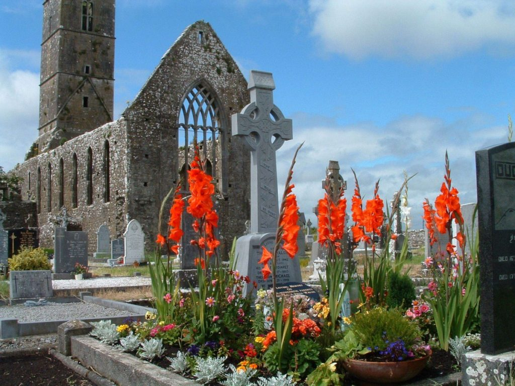 Claregalway County Galway-Claregalway Franciscan Friary