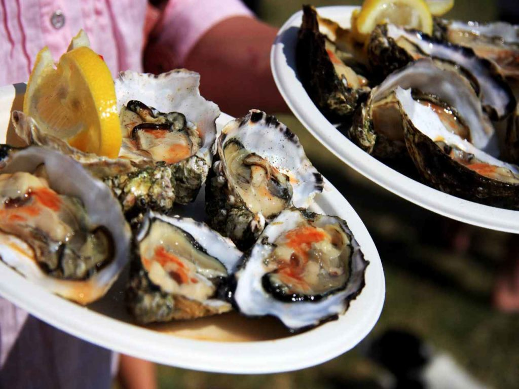 Clarinbridge oyster festival in Galway Ireland