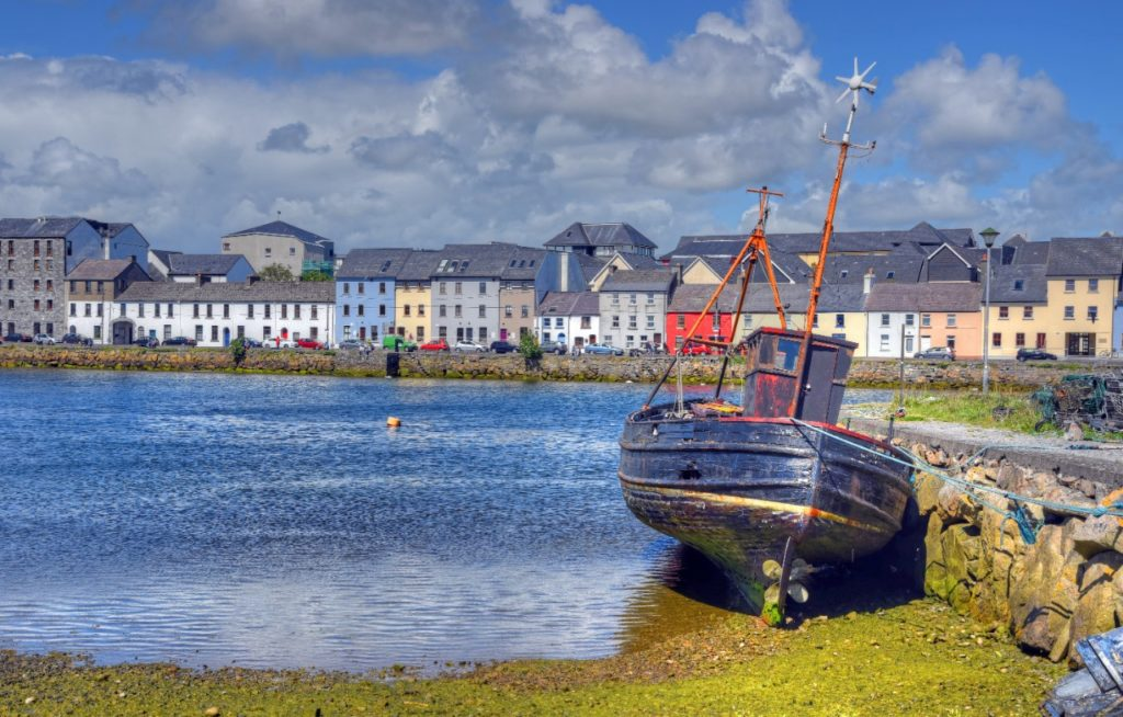 Galway city Claddagh Galway in Galway, Ireland