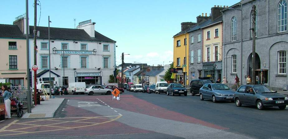 Gort Galway towns and villages Ireland