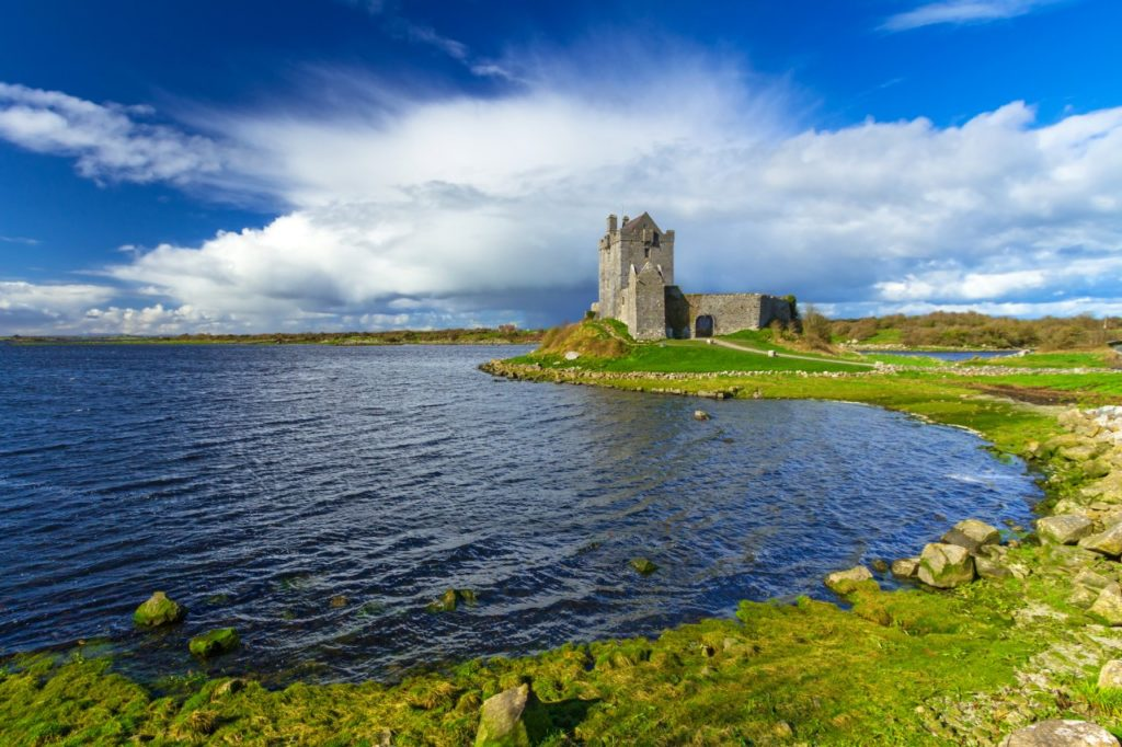 Kinvara co. Galway Dunguaire castle