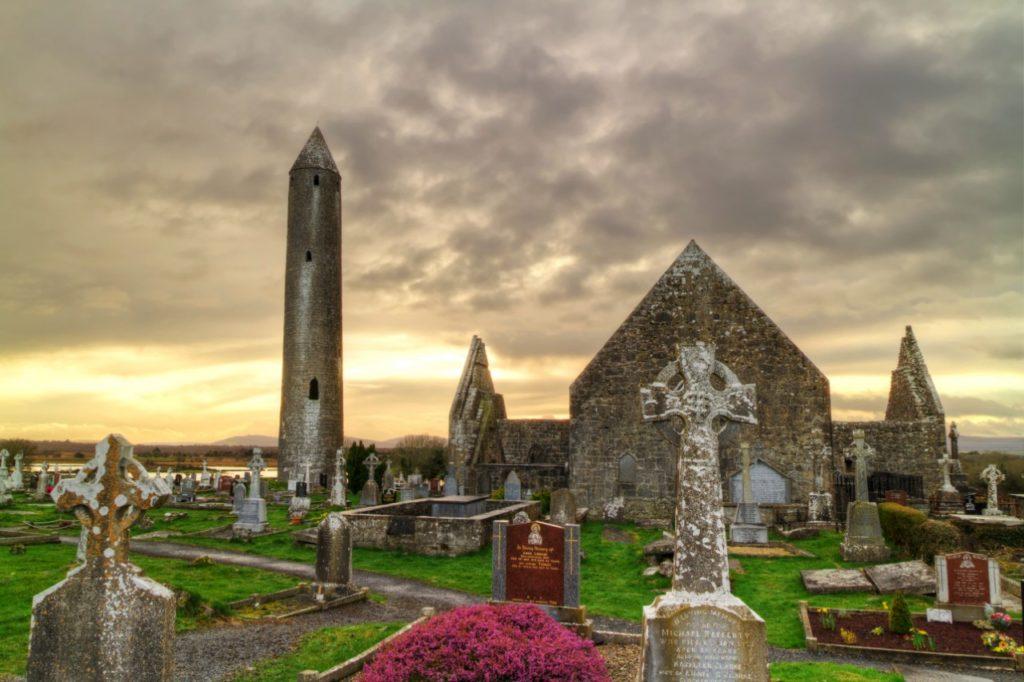 Near Gort town Galway - Kilmacduagh monastery