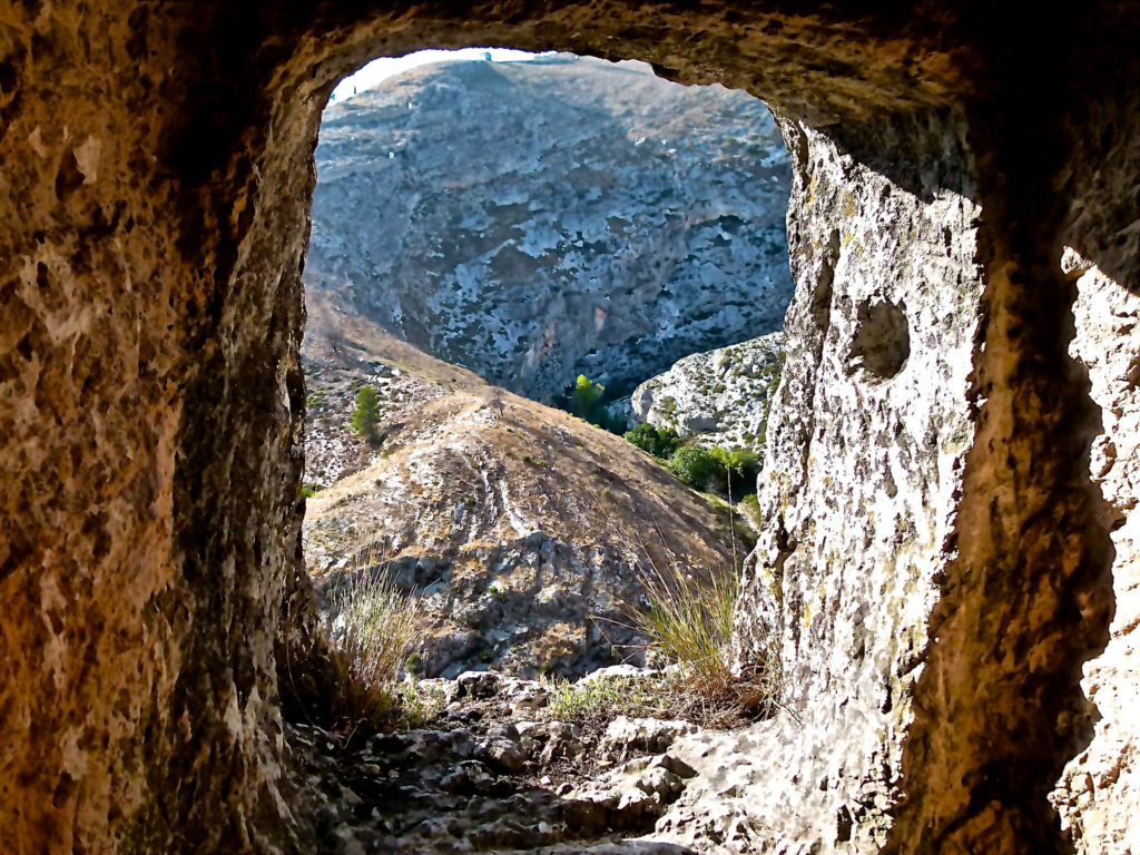 Ontinyent Spain Window Coves dels Moros