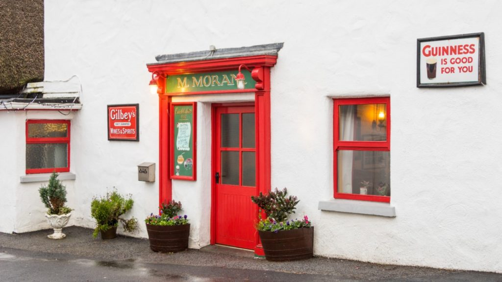towns Galway Moran's Oyster Cottage,