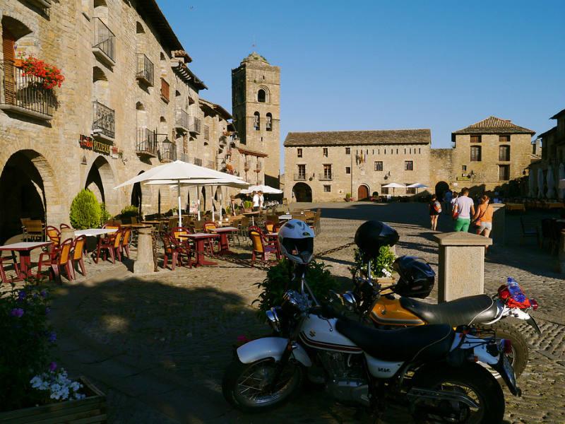 Ainsa Spain lovely towns