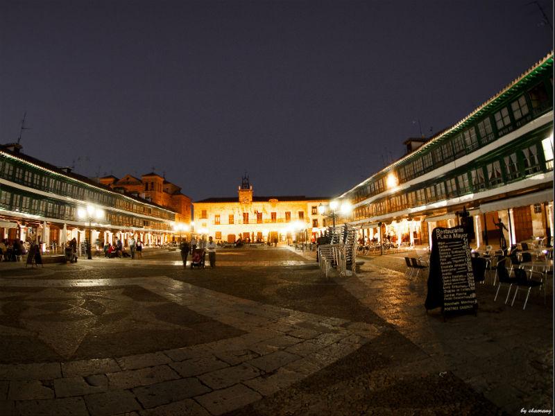 Almagro Plaza Mayor beautiful towns Spain