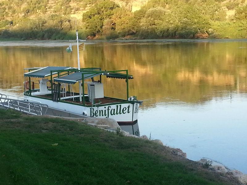 Benifallet Catalonia the boat