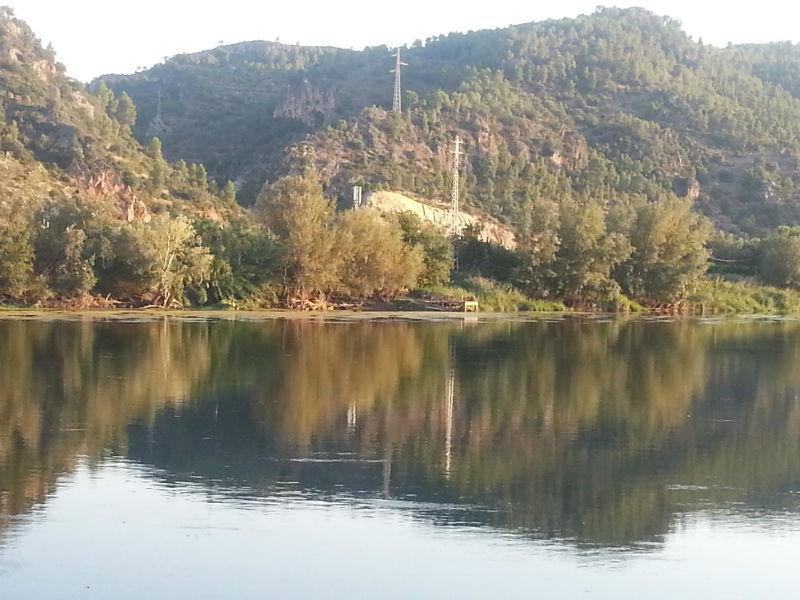 Benifallet Spain Ebro river
