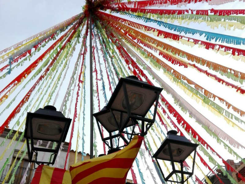 Benifallet Spain fiesta decorations-1