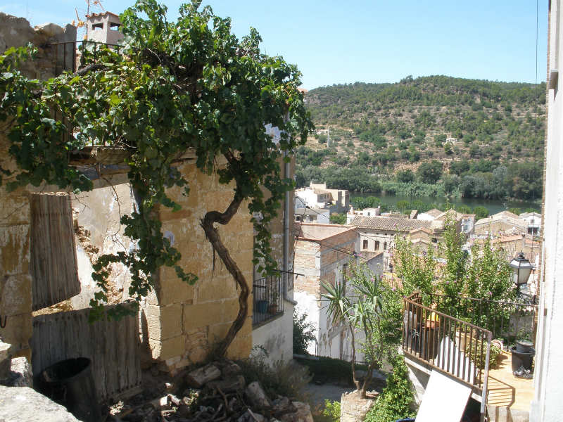 Benifallet Spain upper village
