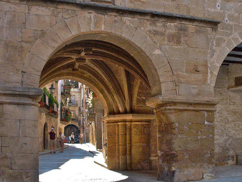 Calaceite Spain most beautiful towns