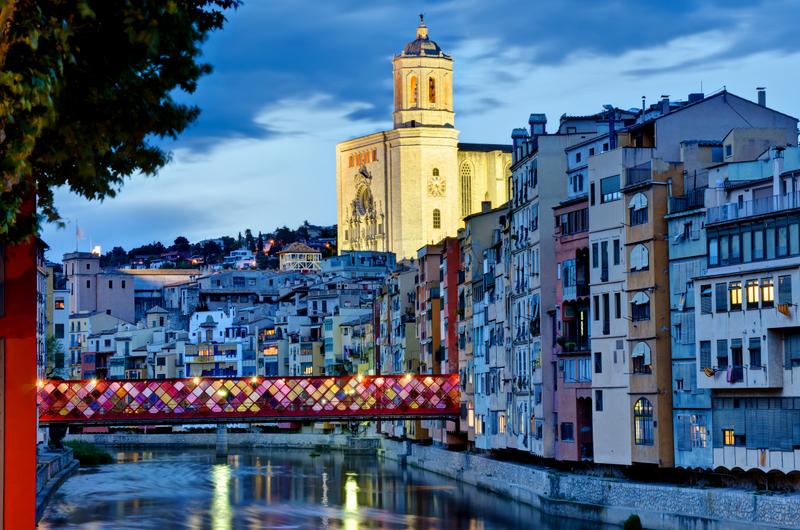 Girona Streets Catalonia