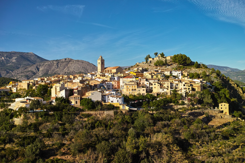 Guadalest Spain most beautiful towns
