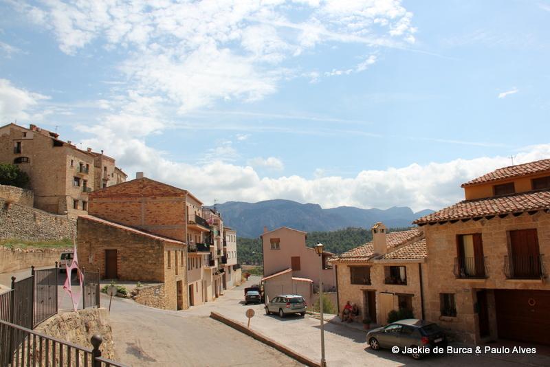 Horta de Sant Joan Overlooking Els Ports