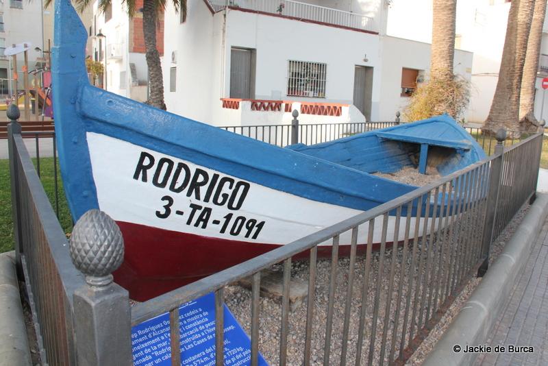 Les Cases d'Alcanar Rodrigo's Boat