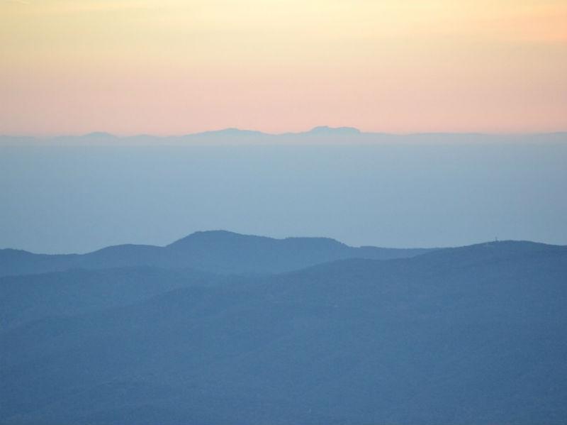 Montseny mountains Catalonia