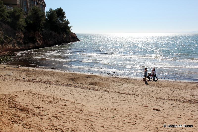 Playa Capellans Beach Salou