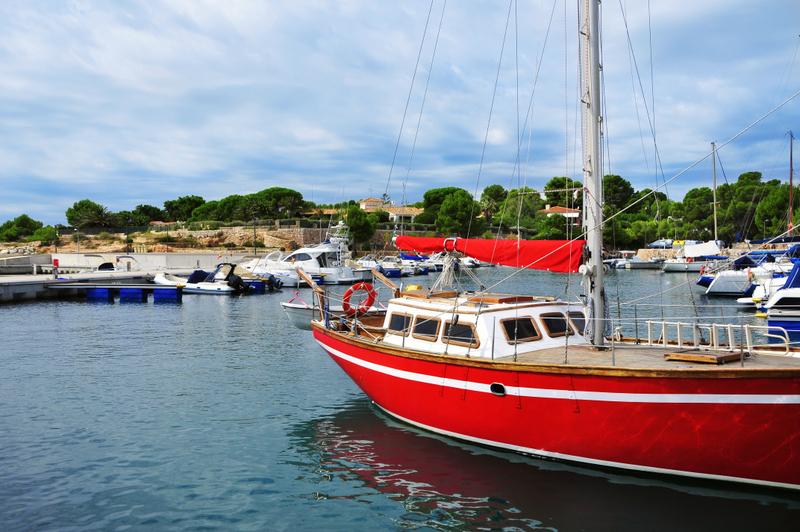 Port Calafat Marina in Ametlla de Mar