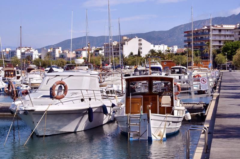Port of Roses Costa Brava Catalonia