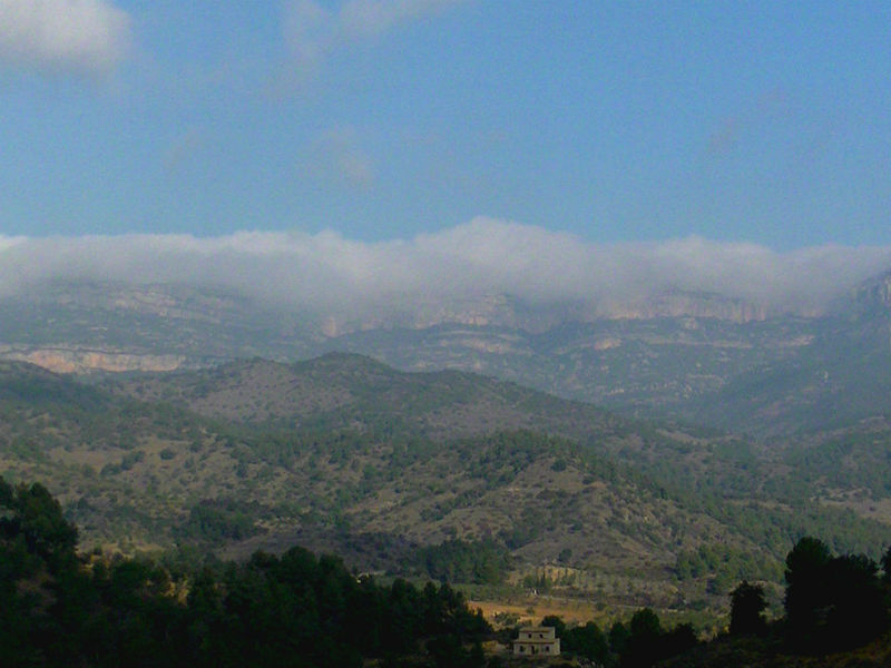 Priorat mountain range