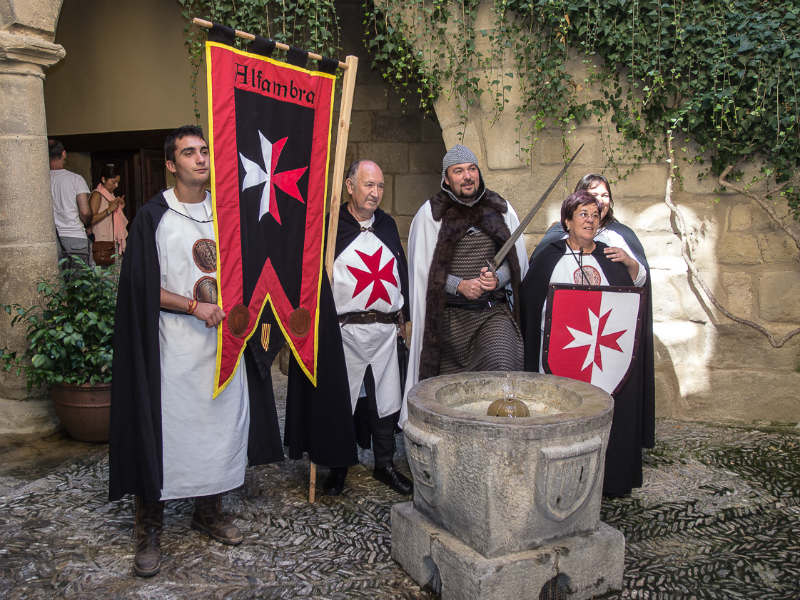 Rubielos de Mora Spain medieval weekend 2014